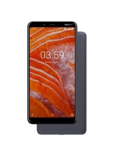 Nokia 3.1 Plus 32 Gb Koyu Gri Cep Telefonu Gümüş